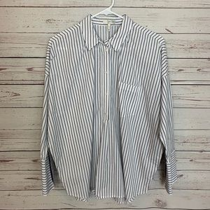 Joie Striped Dolman Sleeve Top Size Medium !